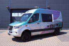 metallic-Folie-Wohnmobil
