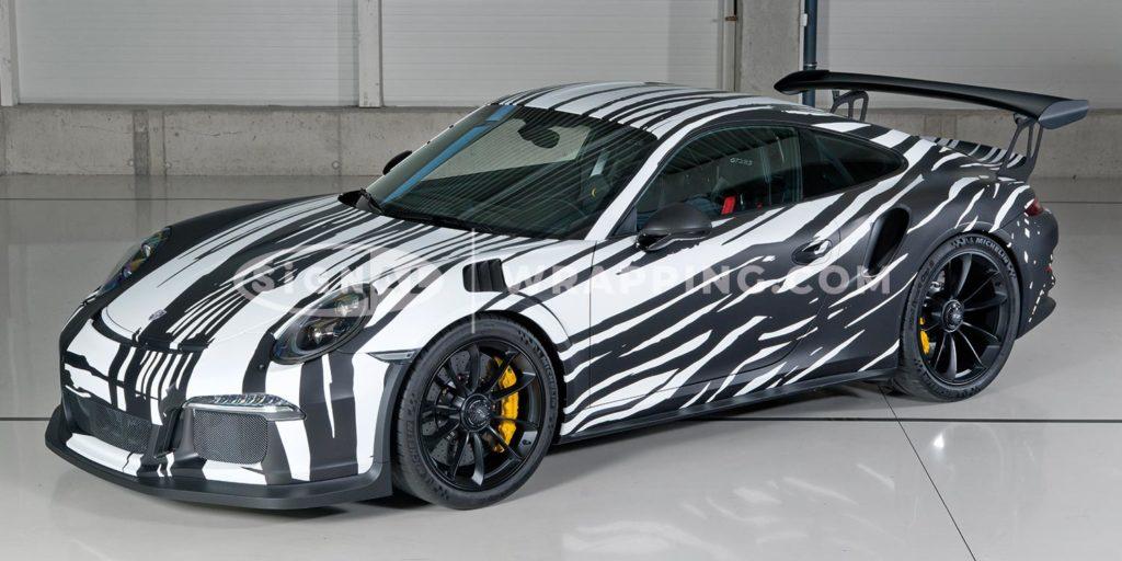 Porsche 911 GT3 RS mit 500 Zebrastärken