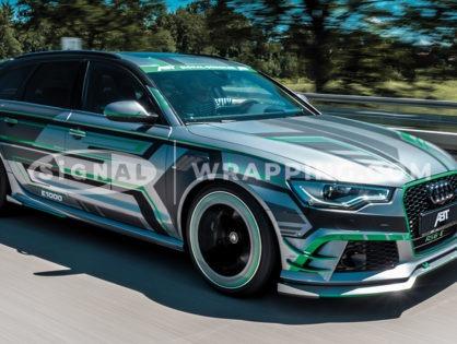 Audi Folierung vom Profi