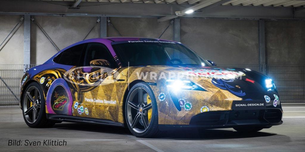 Elektrisierende Porsche-Premiere