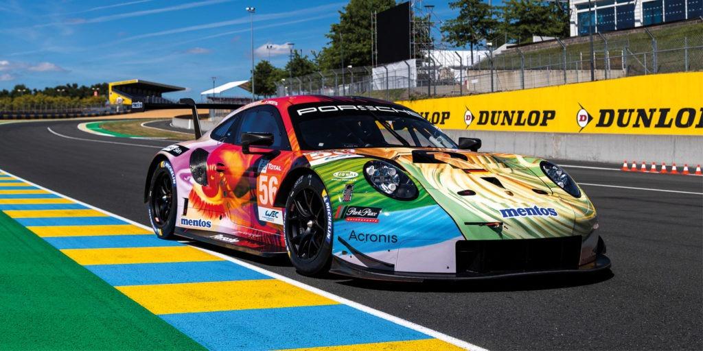 Porsche 911 RSR – mit SIGNal Folierung zum LeMans Sieg