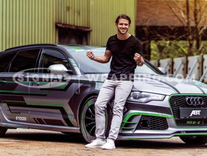 ABT Audi RS6-E Folierung
