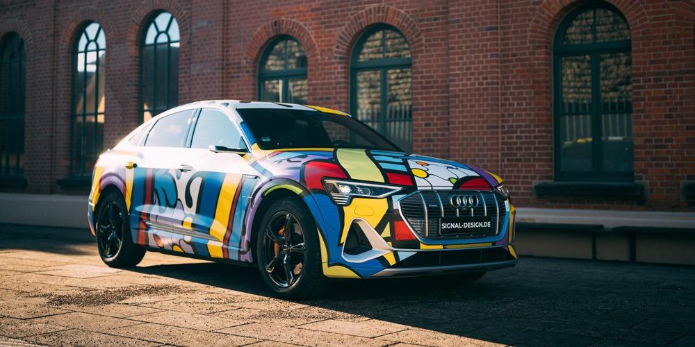 Frauen entdecken Car Wrapping als Ausdruck ihrer Persönlichkeit | Audi e-tron