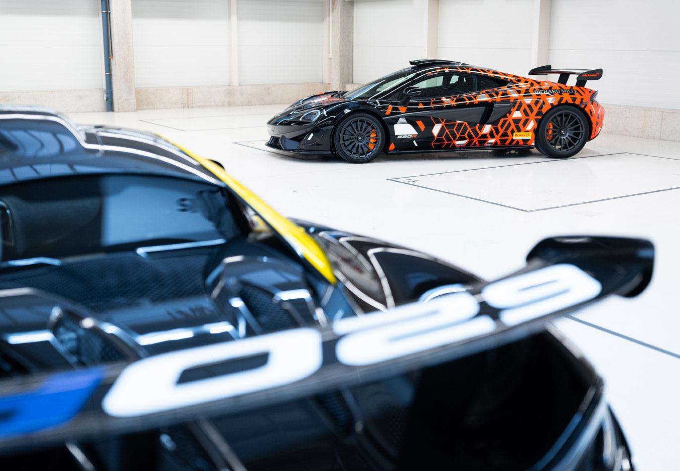McLaren 620R - neue Maßstäbe bei der Individualisierung von Fahrzeugen
