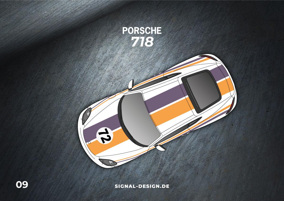 porsche 718 design