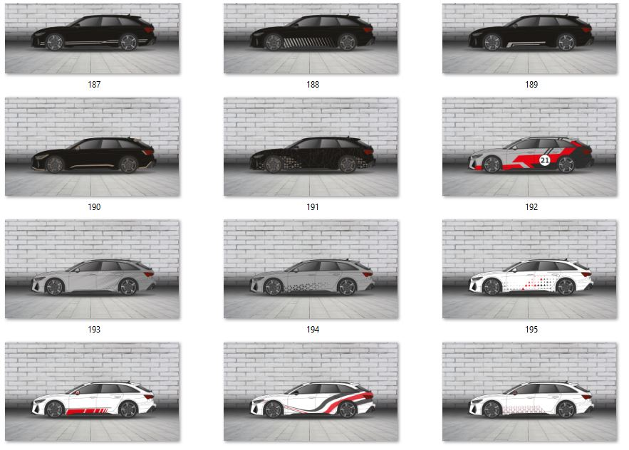 Audi design kollektion