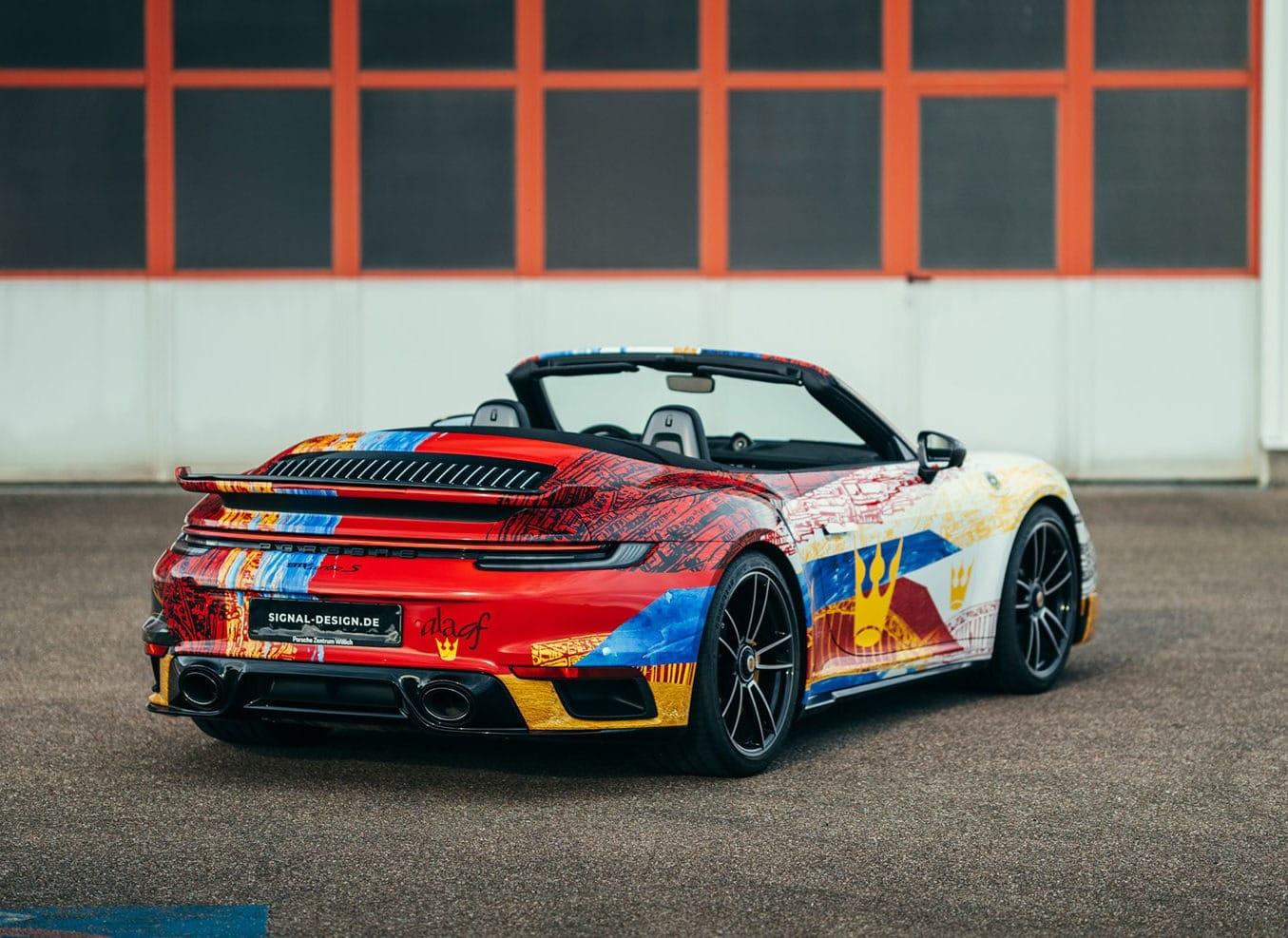 Porsche Design Folierung mit Timo Wuerz Design