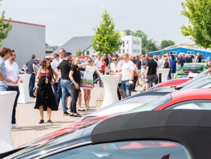 Über 150 Sportwagen beim RT-Charity-Sportwagenfrühstück
